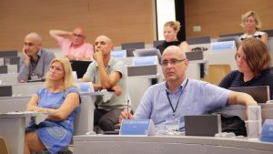M8, participants during a lecture